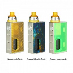 WISMEC Luxotic BF Box Kit with Tobhino(Black Honeycomb)(Green Honeycomb)(Honeycomb Resin)(Swirled Metallic Resin)