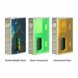 WISMEC Luxotic BF Box MOD (Green Honeycomb)(Honeycomb Resin)(Swirled Metallic Resin)