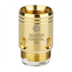 Joyetech EX Coil Head for Exceed 5pcs (0.5ohm, Gold)