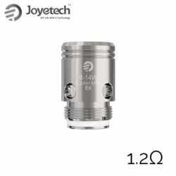 Joyetech EX Coil Head for Exceed 5pcs (1.2ohm, SS)