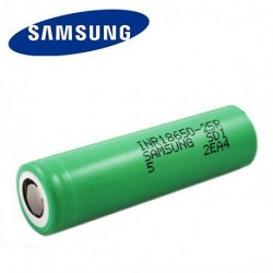 18650 Battery Enook 3600mah 35A 3.7V Black 1pcrechargeable
