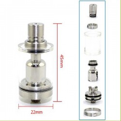Eleaf Melo 4 Replacement Glass Tube 2ml/4.5ml (D22)(D25)