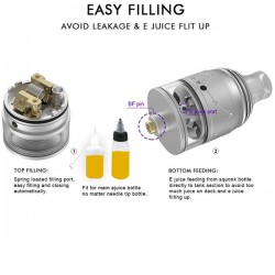 Vapefly Galaxies MTL RDTA 2ml (Stainless, Standard Edition)