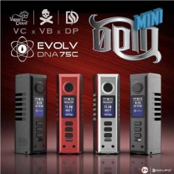 VAPERZ CLOUD X DOVPO ODIN Mini DNA75c Mod BRUSHED SERIES
