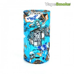 Vapor Storm Puma 200W TC Box MOD (Graffiti-3 Blue)