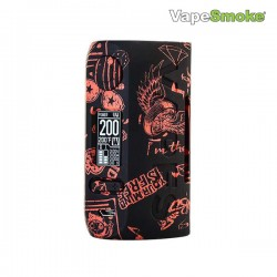 Vapor Storm Puma 200W TC Box MOD (Vape on Black)